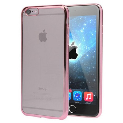 Microsonic Apple Iphone 6 Kılıf Flexi Delux Rose Cep Telefonu Kılıfı