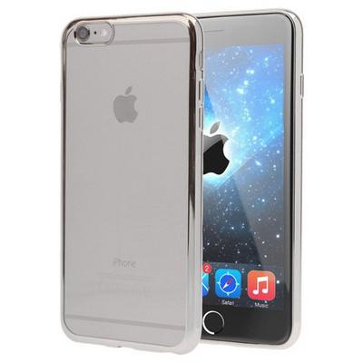 Microsonic Apple Iphone 6 Kılıf Flexi Delux Gümüş Cep Telefonu Kılıfı
