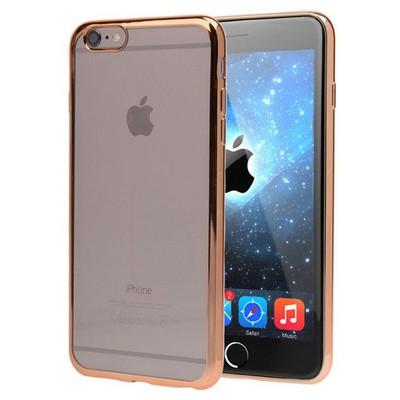Microsonic Apple Iphone 6 Kılıf Flexi Delux Gold Cep Telefonu Kılıfı