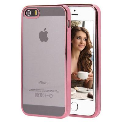 Microsonic Apple Iphone 5s Kılıf Flexi Delux Rose Cep Telefonu Kılıfı