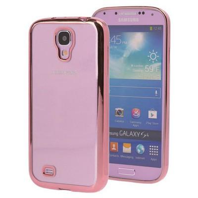 Microsonic Samsung Galaxy S4 Kılıf Flexi Delux Rose Cep Telefonu Kılıfı