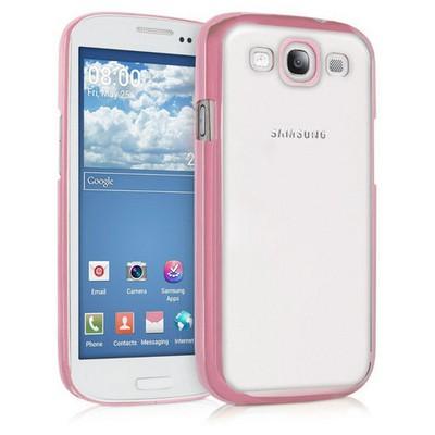 Microsonic Samsung Galaxy S3 Kılıf Flexi Delux Rose Cep Telefonu Kılıfı