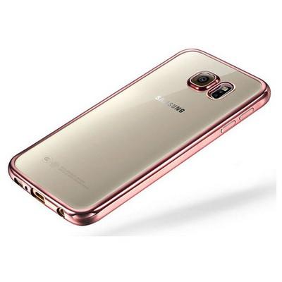Microsonic Samsung Galaxy Note 5 Kılıf Flexi Delux Rose Cep Telefonu Kılıfı