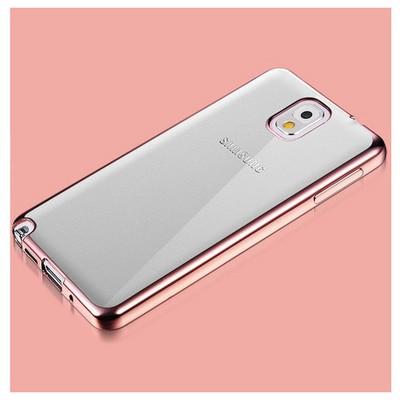 Microsonic Samsung Galaxy Note 3 Kılıf Flexi Delux Rose Cep Telefonu Kılıfı