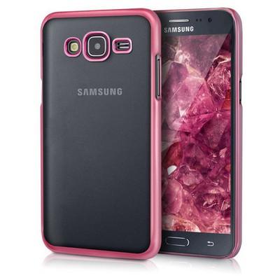 Microsonic Samsung Galaxy J5 Kılıf Flexi Delux Rose Cep Telefonu Kılıfı
