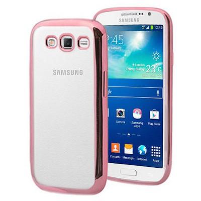 Microsonic Samsung Galaxy Grand 2 Kılıf Flexi Delux Rose Cep Telefonu Kılıfı