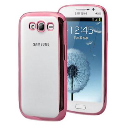 Microsonic Samsung Galaxy Grand I9082 Kılıf Flexi Delux Rose Cep Telefonu Kılıfı