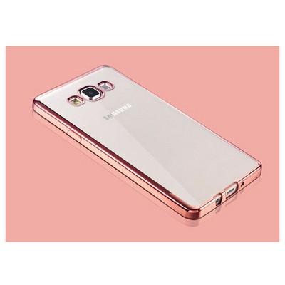 Microsonic Samsung Galaxy A7 Kılıf Flexi Delux Rose Cep Telefonu Kılıfı