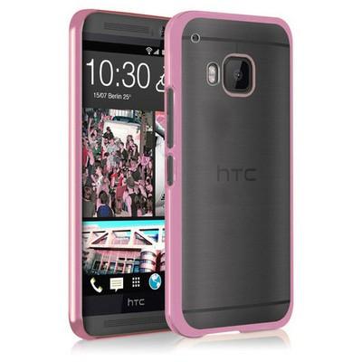 Microsonic Htc One M9 Kılıf Flexi Delux Rose Cep Telefonu Kılıfı