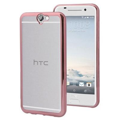 Microsonic Htc One A9 Kılıf Flexi Delux Rose Cep Telefonu Kılıfı