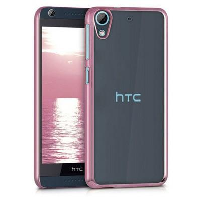 Microsonic Htc Desire 626 Kılıf Flexi Delux Rose Cep Telefonu Kılıfı