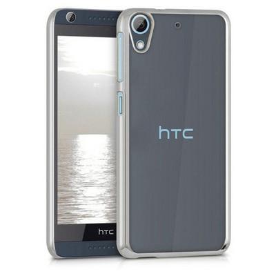 Microsonic Htc Desire 626 Kılıf Flexi Delux Gümüş Cep Telefonu Kılıfı