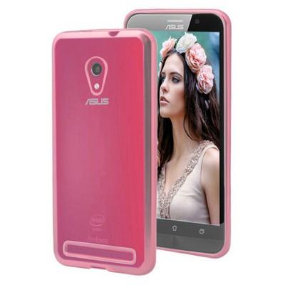 Microsonic Asus Zenfone 6 Kılıf Flexi Delux Rose Cep Telefonu Kılıfı