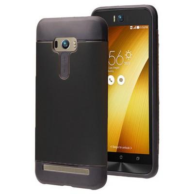 Microsonic Asus Zenfone Selfie Kılıf Slim Fit Dual Layer Armor Siyah Cep Telefonu Kılıfı