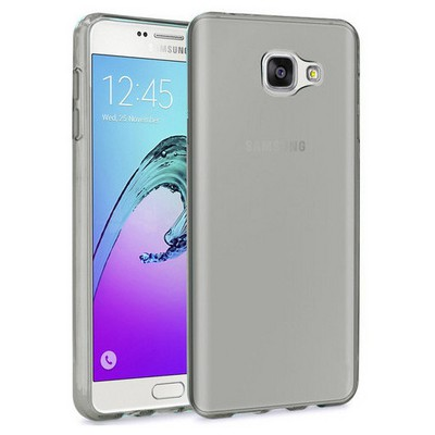Microsonic Samsung Galaxy A3 2016 Kılıf Transparent Soft Siyah Cep Telefonu Kılıfı
