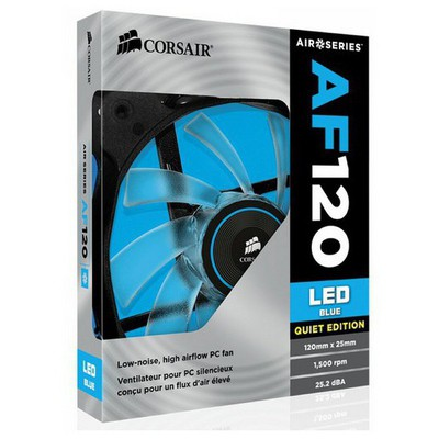 Corsair Air Series AF120 LED Blue Quiet Fan (CO-9050015-BLED)