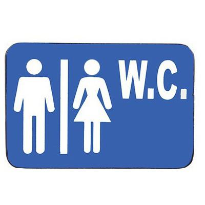 İş Koruma Bay & Bayan W.c 15x10cm Kapı Levhaları