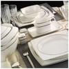 Kütahya Porselen 66100 Aliza Bone 83 Parça Desenli Yemek Takımı