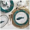 Kütahya Porselen 8697 Iris 83 Parça Yemek Takımı Tabak