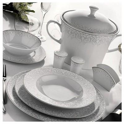 Kütahya Porselen 51256 Iris 97 Parça Yemek Takımı