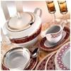 Kütahya Porselen 7799 Iris 97 Parça Yemek Takımı Tabak