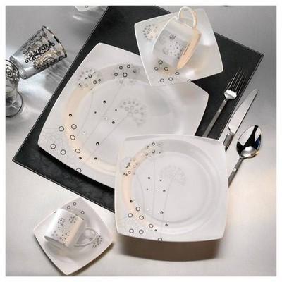 Kütahya Porselen 35103 Aliza Bone 83 Parça Yemek Takımı