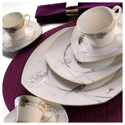 Kütahya Porselen 30137 Lapis 85 Parça Dekor Yemek Takımı