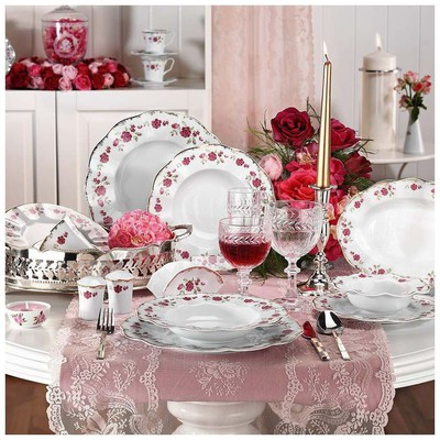 Kütahya Porselen 8554 Nil 83 Parça Yemek Takımı
