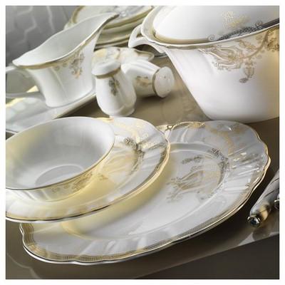 Kütahya Porselen 50117 Romans 84 Parça Yemek Takımı