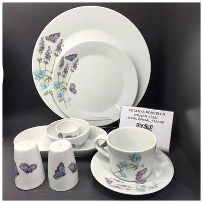 Kütahya Porselen 8957 Itır 39 Parça Kahvaltı Takımı