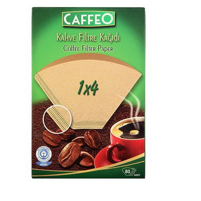 Caffeo Filtre  Kağıdı 1 X 4 80 Adet Kahve