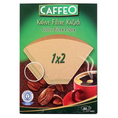 Caffeo Filtre  Kağıdı 1 X 2 80 Adet Kahve