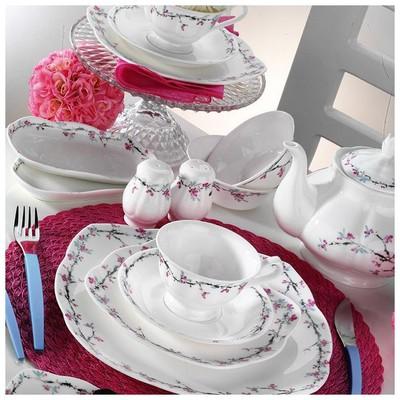 Kütahya Porselen 50100 Bone China 44 Parça Kahvaltı Takımı