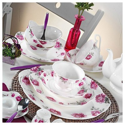 Kütahya Porselen 50102 Bone China 44 Parça Kahvaltı Takımı