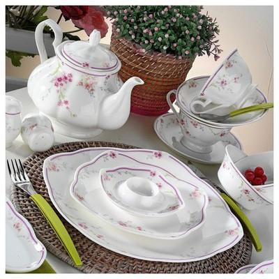 Kütahya Porselen 50104 Bone China 44 Parça Kahvaltı Takımı