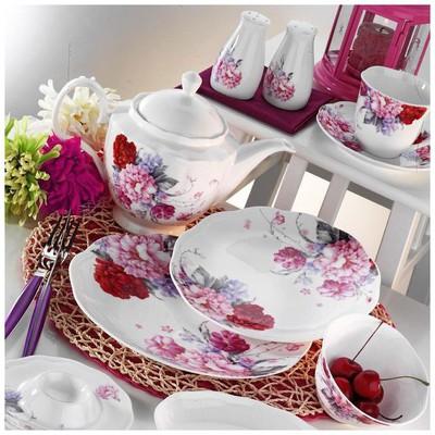 Kütahya Porselen 55100 Bone China 44 Parça Kahvaltı Takımı