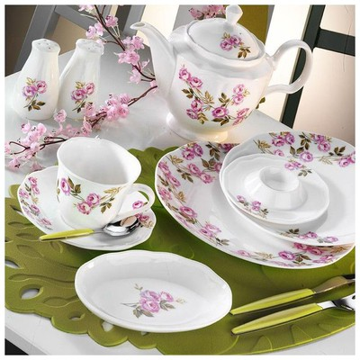 Kütahya Porselen 55103 Bone China 44 Parça Kahvaltı Takımı
