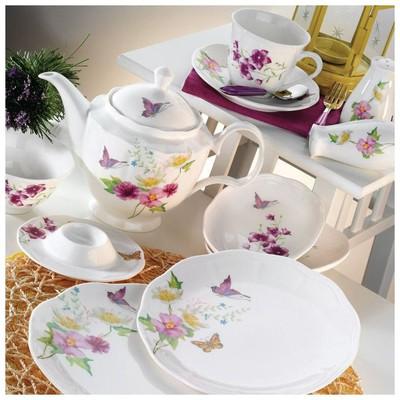 Kütahya Porselen 55104 Bone China 44 Parça Kahvaltı Takımı