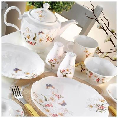 Kütahya Porselen 55105 Bone China 44 Parça Kahvaltı Takımı