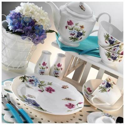 Kütahya Porselen 55107 Bone China 44 Parça Kahvaltı Takımı