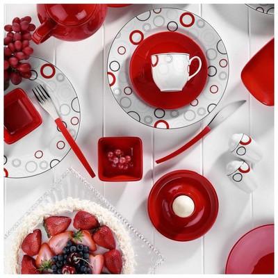 Kütahya Porselen 5468 Yasemin 40 Parça Kahvaltı Takımı
