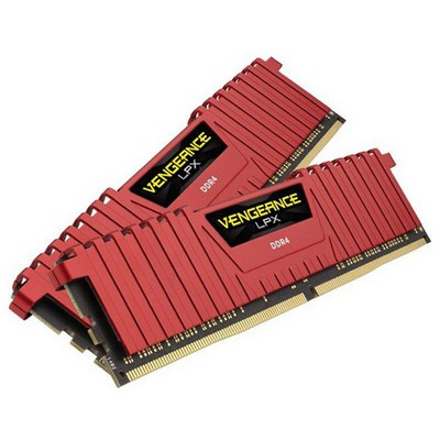 Corsair Vengeance LPX Red 2x8GB RAM (CMK16GX4M2A2400C16R)