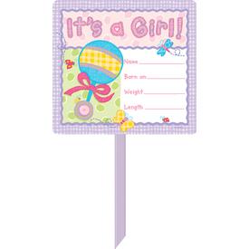 Parti Paketi Hoşgeldin Bebek, Kız Parti Pankartı Parti Afişi
