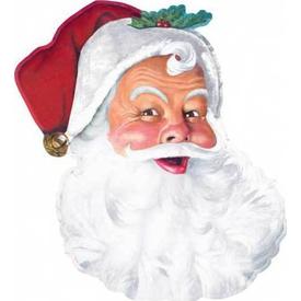 Parti Paketi Noel Baba'nın Başı, Duvar Dekoru Parti Dekoru