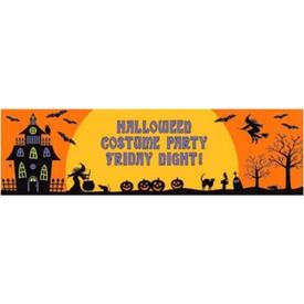 Parti Paketi Halloween Partisi, Kişiselleştir Dev Afiş Parti Dekoru