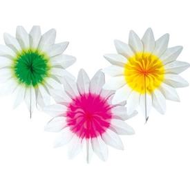 Parti Paketi Çiçek Kağıt Dekor, 36cm Parti Süsü