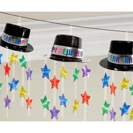 Parti Paketi Yılbaşı Şapkaları, Ip Garlent Parti Süsü