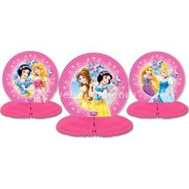 Parti Paketi Disney Prensesler Partisi, Masa Orta Süsü 3'lü Parti Sofra Süsü