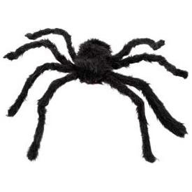 Parti Paketi Örümcek Dekor, Siyah Tüylü 70cm Parti Dekoru