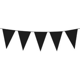 Parti Paketi Siyah Büyük Bayrak Dizisi, 10m Parti Süsü